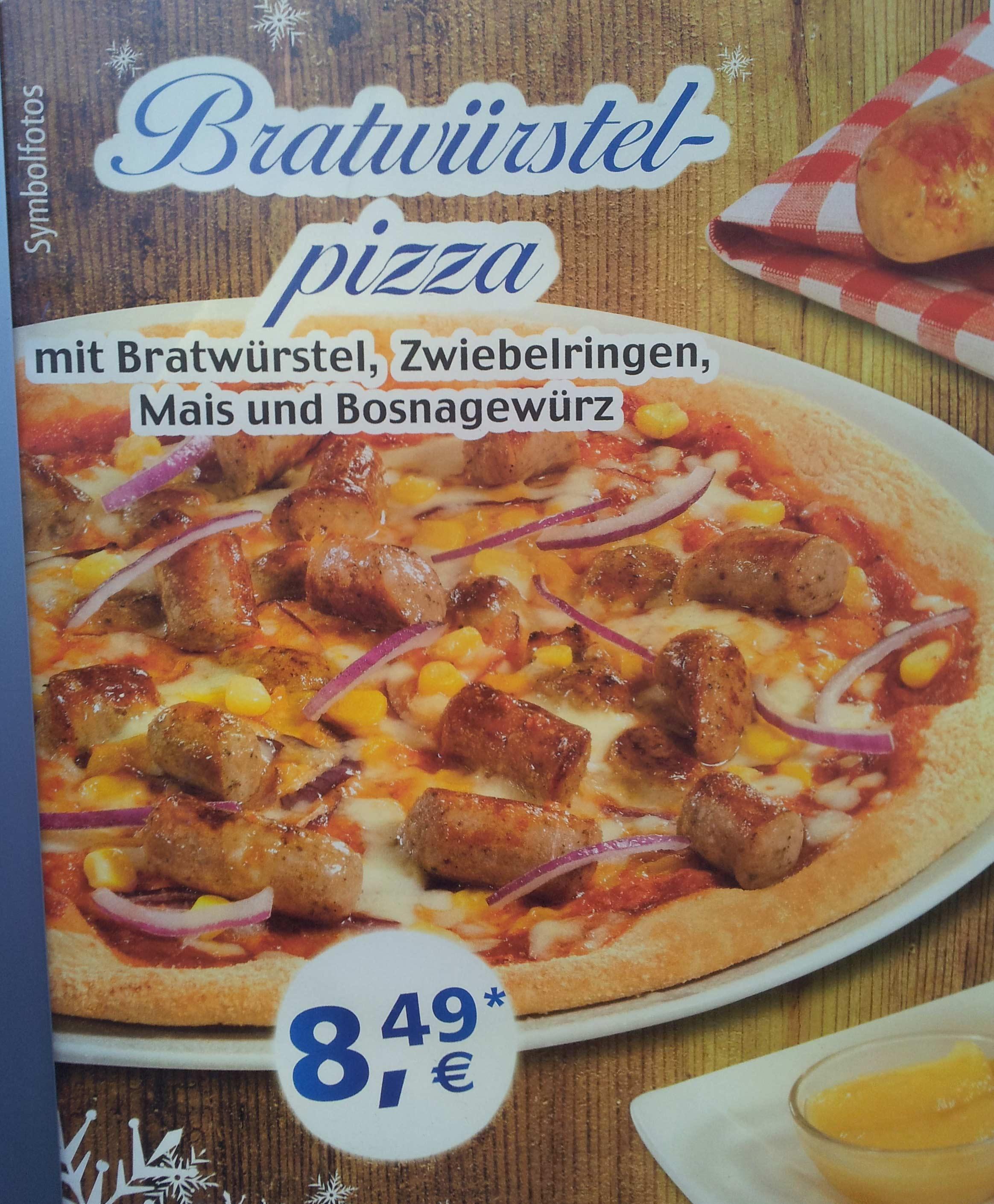 Bratwürstel Pizza - Es reicht Herr Hoeneß